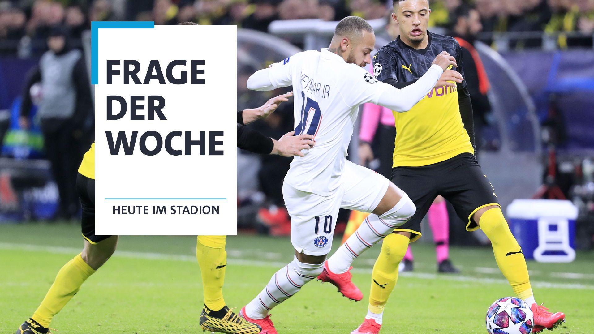 Spielszene Dortmund - Paris
