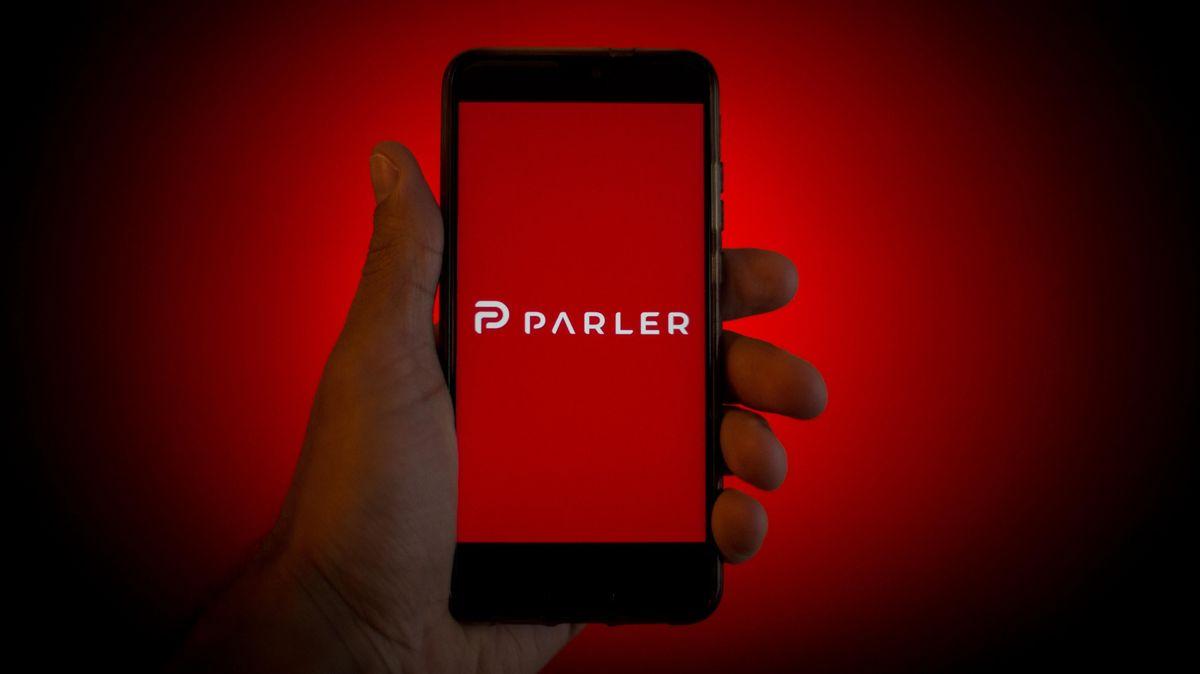 Nicht mehr zum Download verfügbar: Die Social-Media-Plattform Parlerl-Media-Plattform