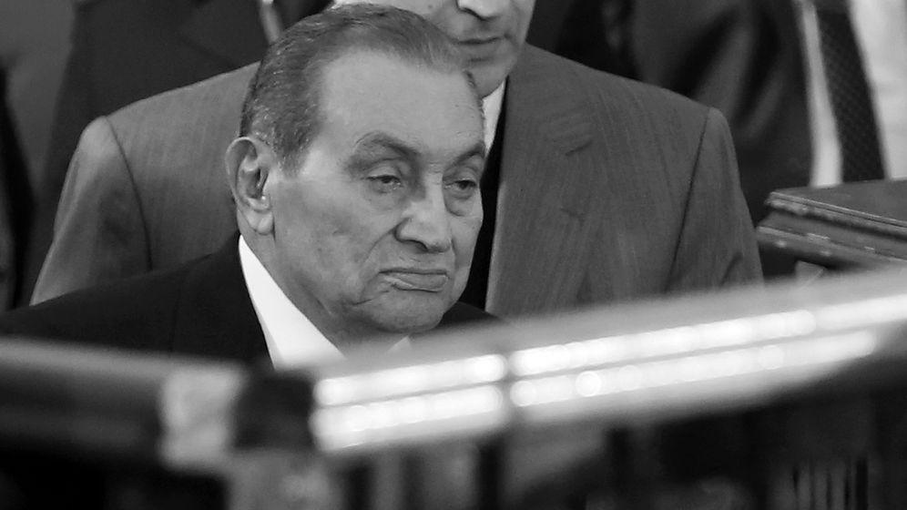 Ägyptens Ex-Staatschef Mubarak ist tot | Bild:pa/dpa/Mohamed Mostafa