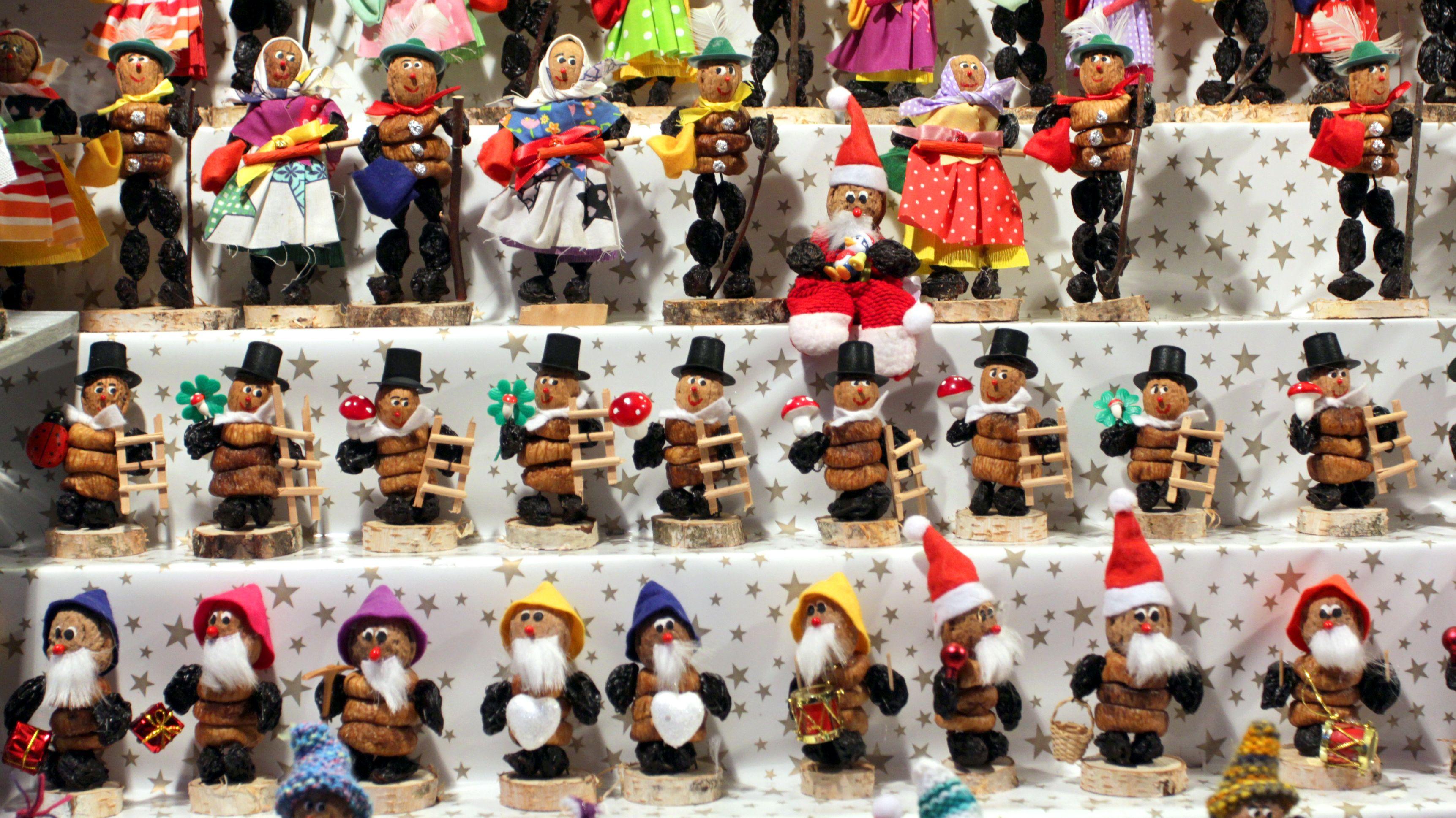 Zwetschgenmännle auf dem Nürnberger Christkindlesmarkt