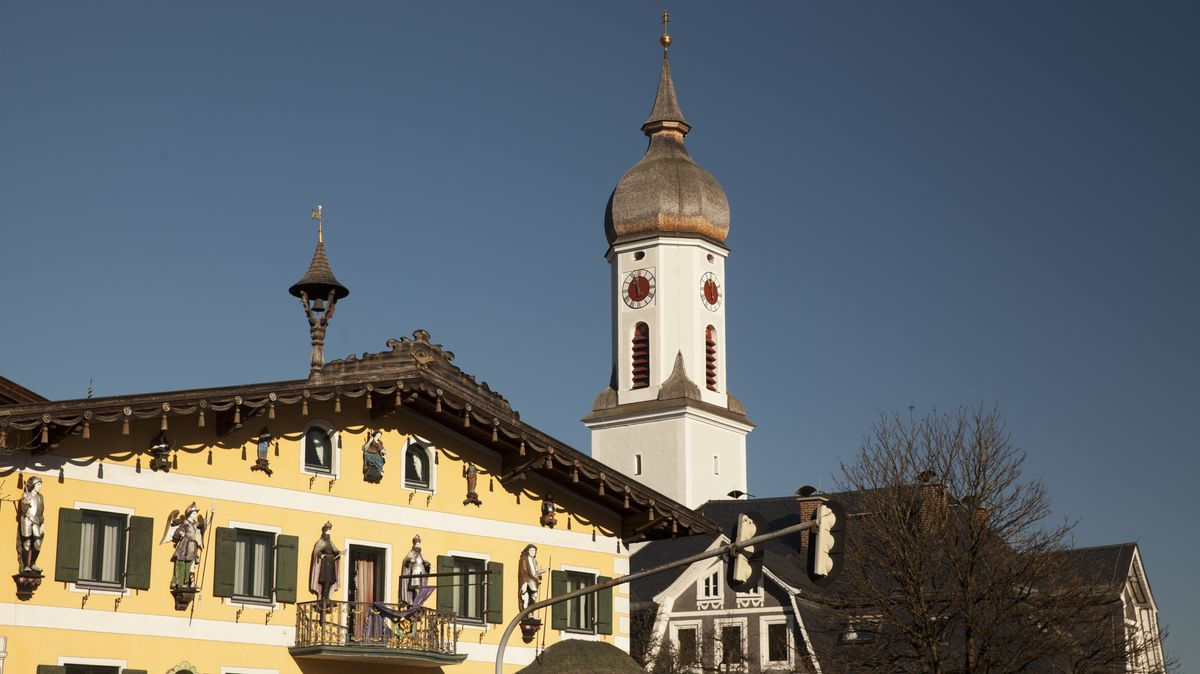 Die Pfarrkirche St. Martin in Garmisch-Partenkirchen (Archivbild)