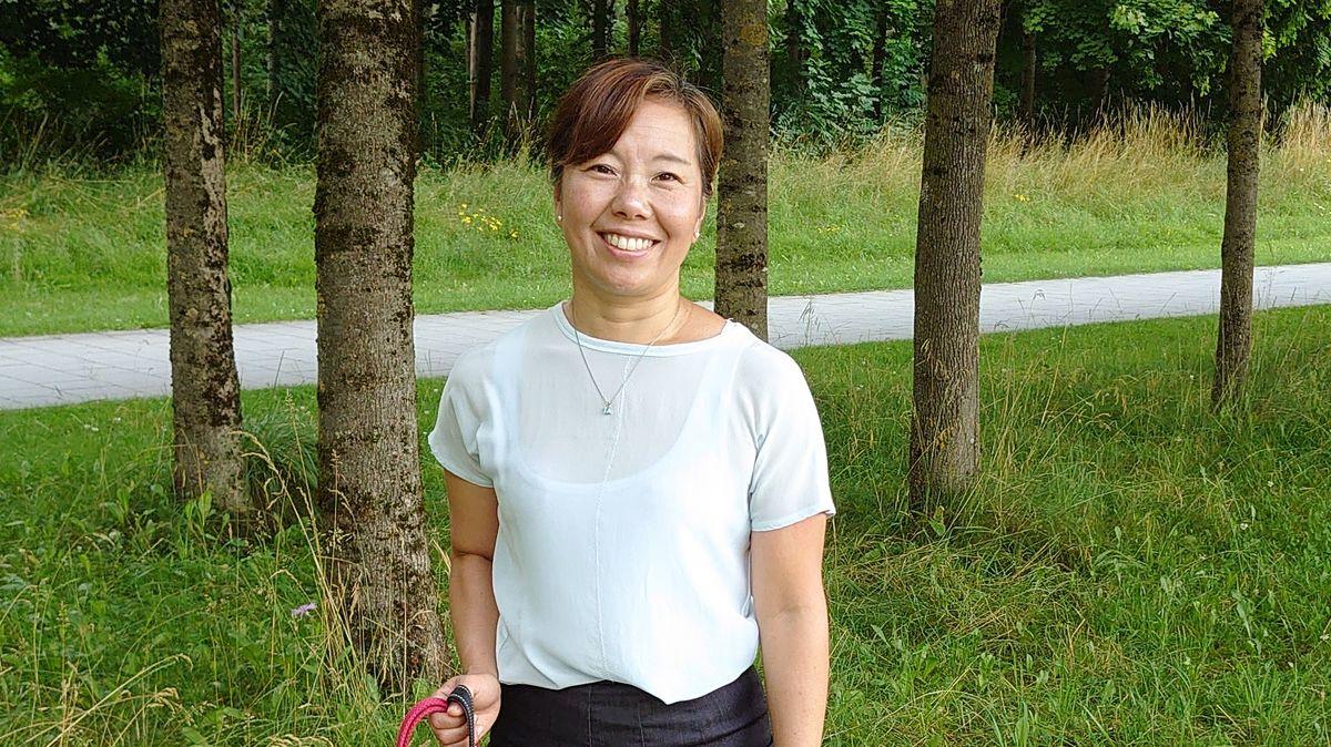 Kiriko Nishiyama, Leiterin von interkulturellen Kursen für Deutsche, die nach Japan gehen