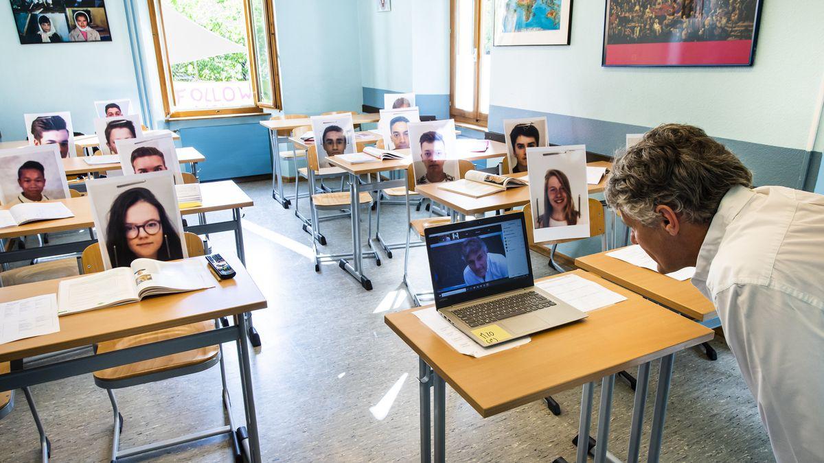 Eine kreative Lösung aus der Schweiz: Die Auswahl des richtigen Tools dürfte jedoch oft schwieriger sein als der Unterricht selbst.