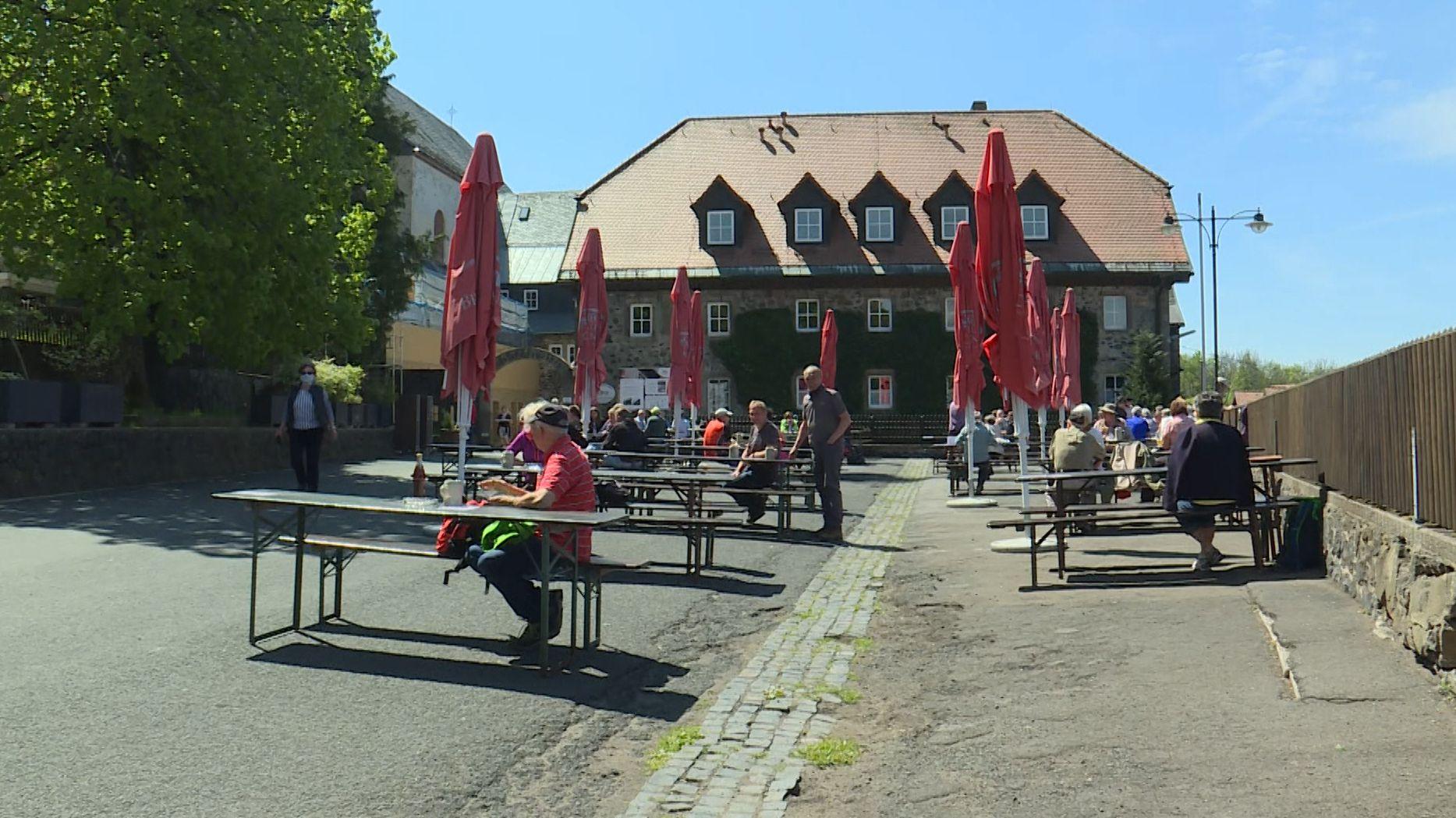 Biergarten am Kloster Kreuzberg