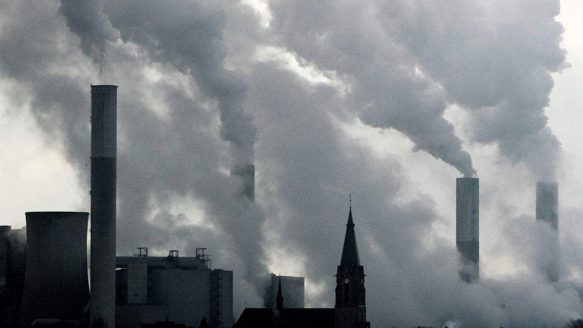 Kohlekraftwerk bei Düsseldorf