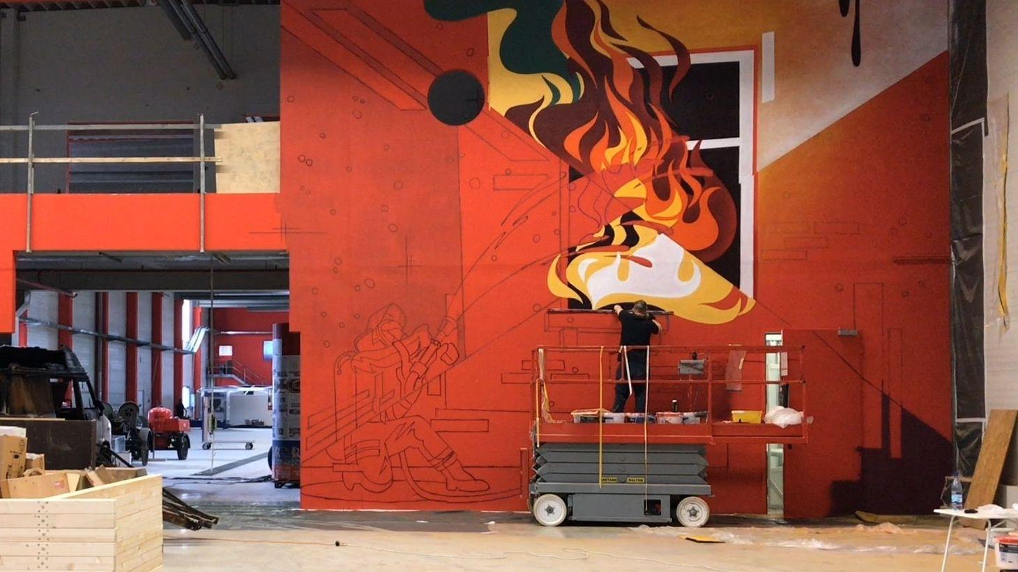 In Augsburg entsteht ein Feuerwehr-Erlebniszentrum