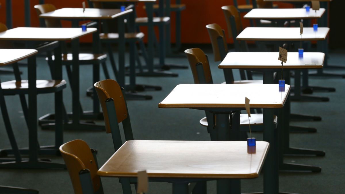 Getrennte Plätze bei den Abiturprüfungen in Bayern