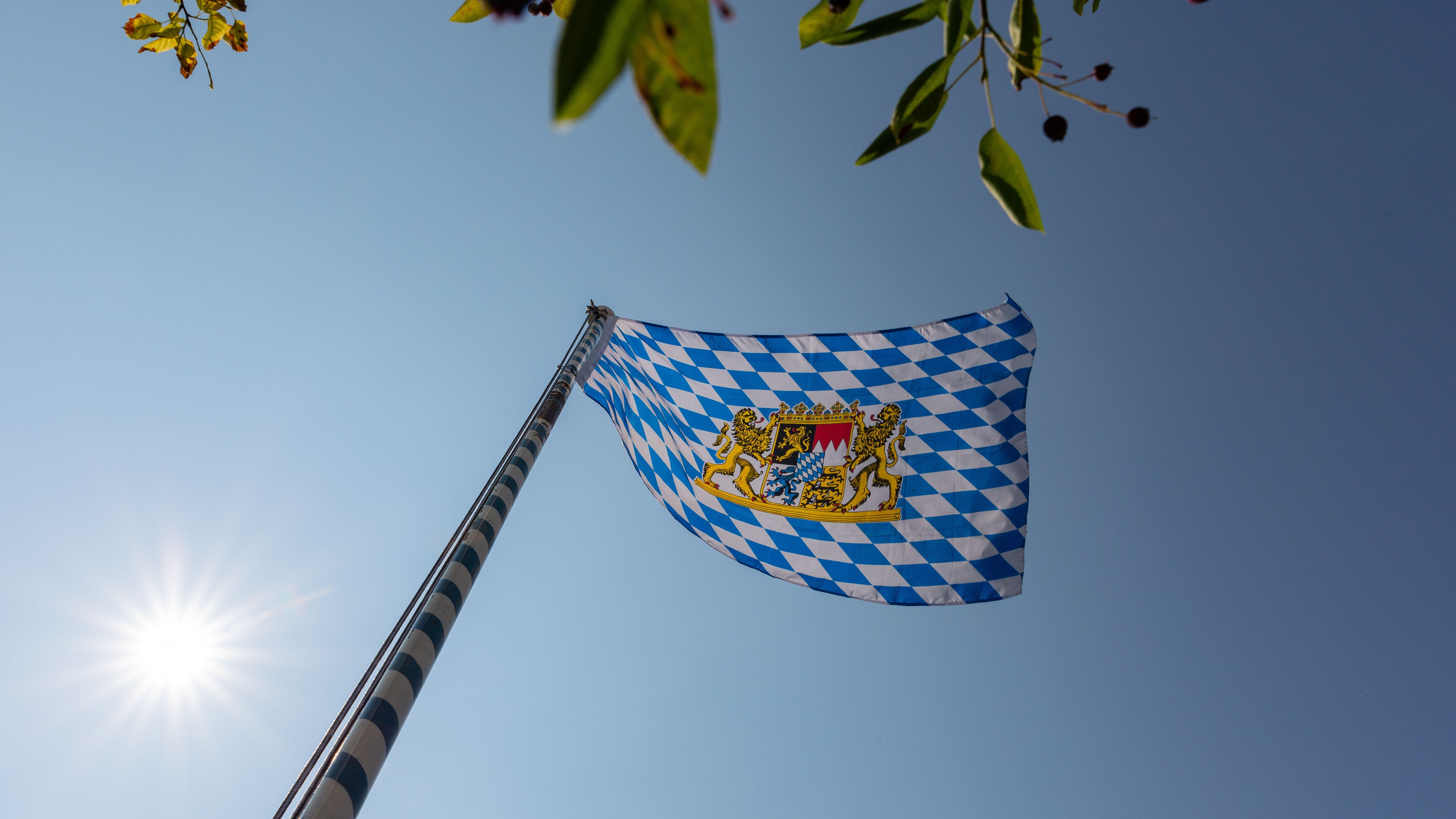 Die bayerische Flagge