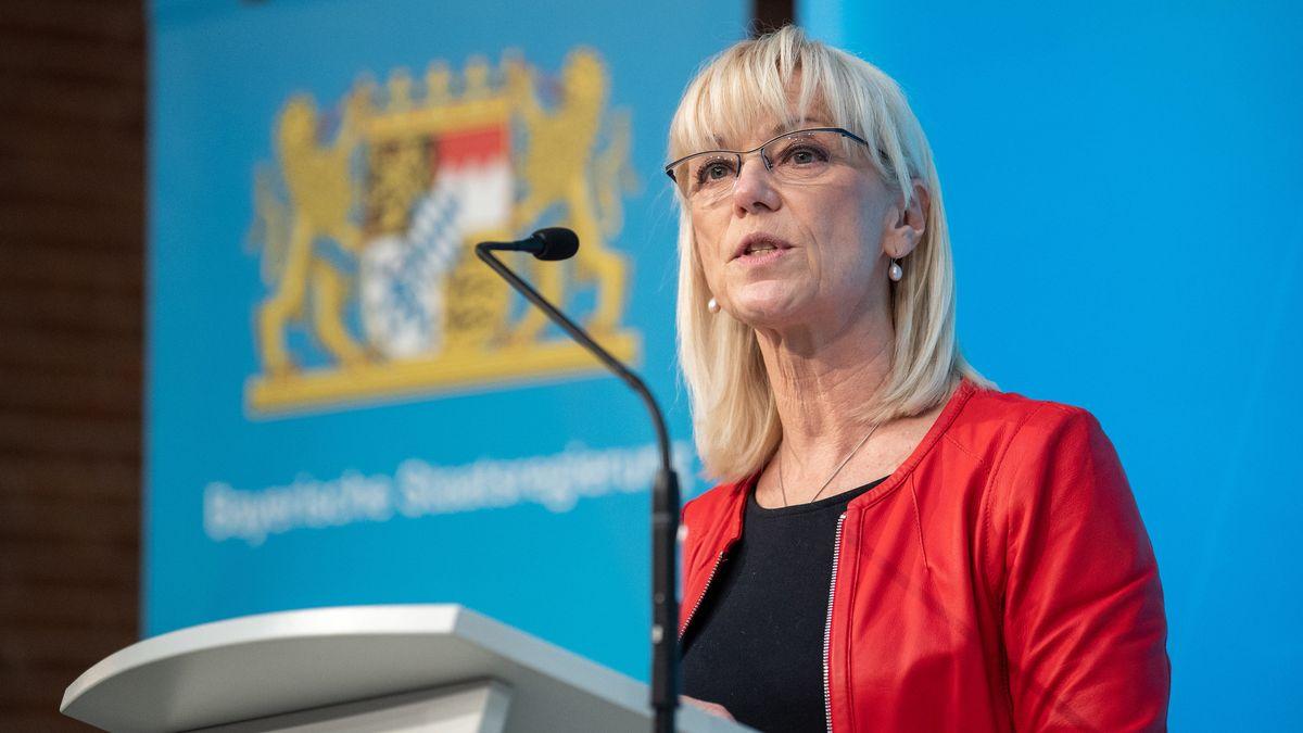 Carolina Trautner (CSU), Sozial- und Familienministerin von Bayern.