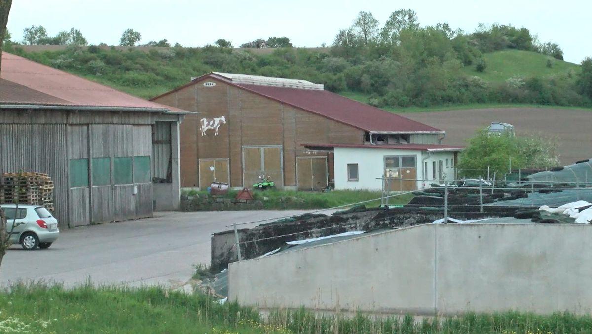 Rindermastbetrieb bei Rothenburg