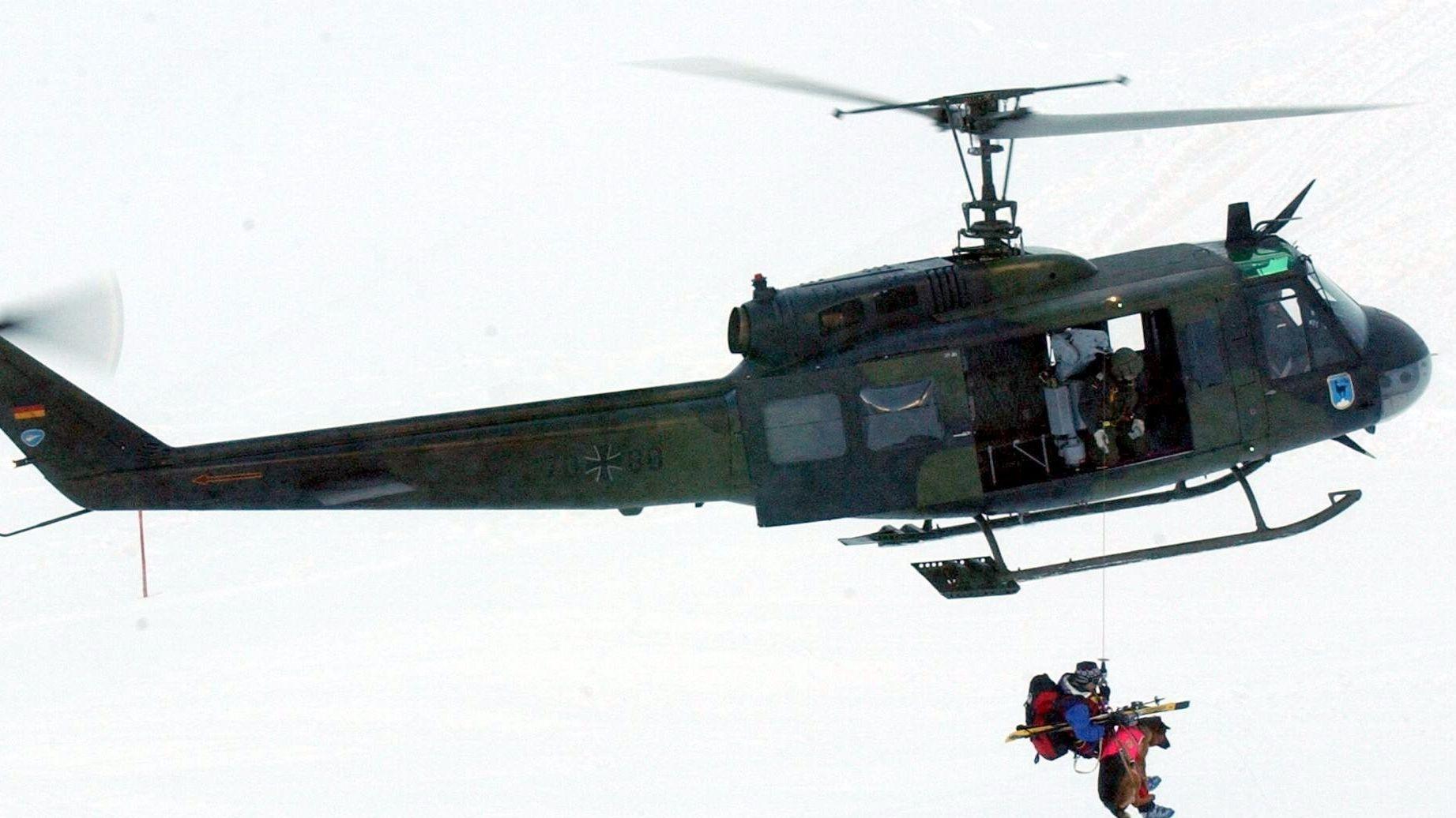 Bergwacht-Rettungsübung (Symbol)