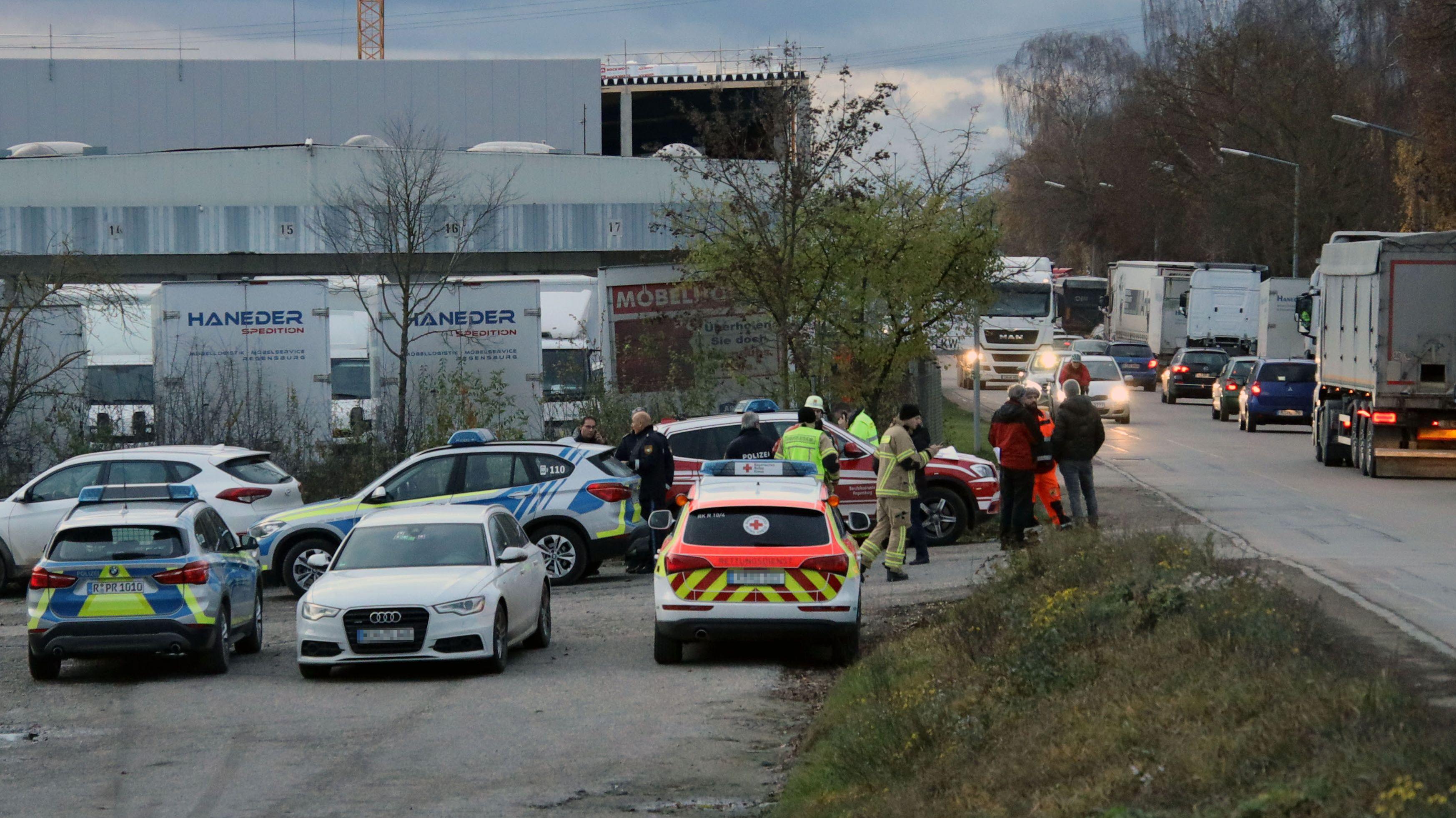 Bombenfund am Regensburger Hafen: Im gleichen Stadtteil war bereits im Mai eine 125 Kilogramm schwere Weltkriegsbombe entdeckt worden.