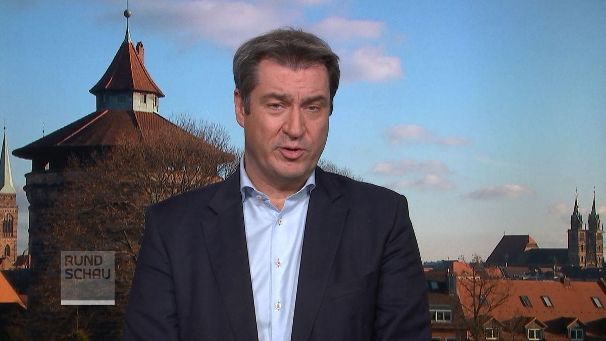 Bayerns Ministerpräsident Markus Söder (CSU) zum Imfpstoff von Astrazeneca und der Empfehlung der Ständigen Impfkommission (Stiko).