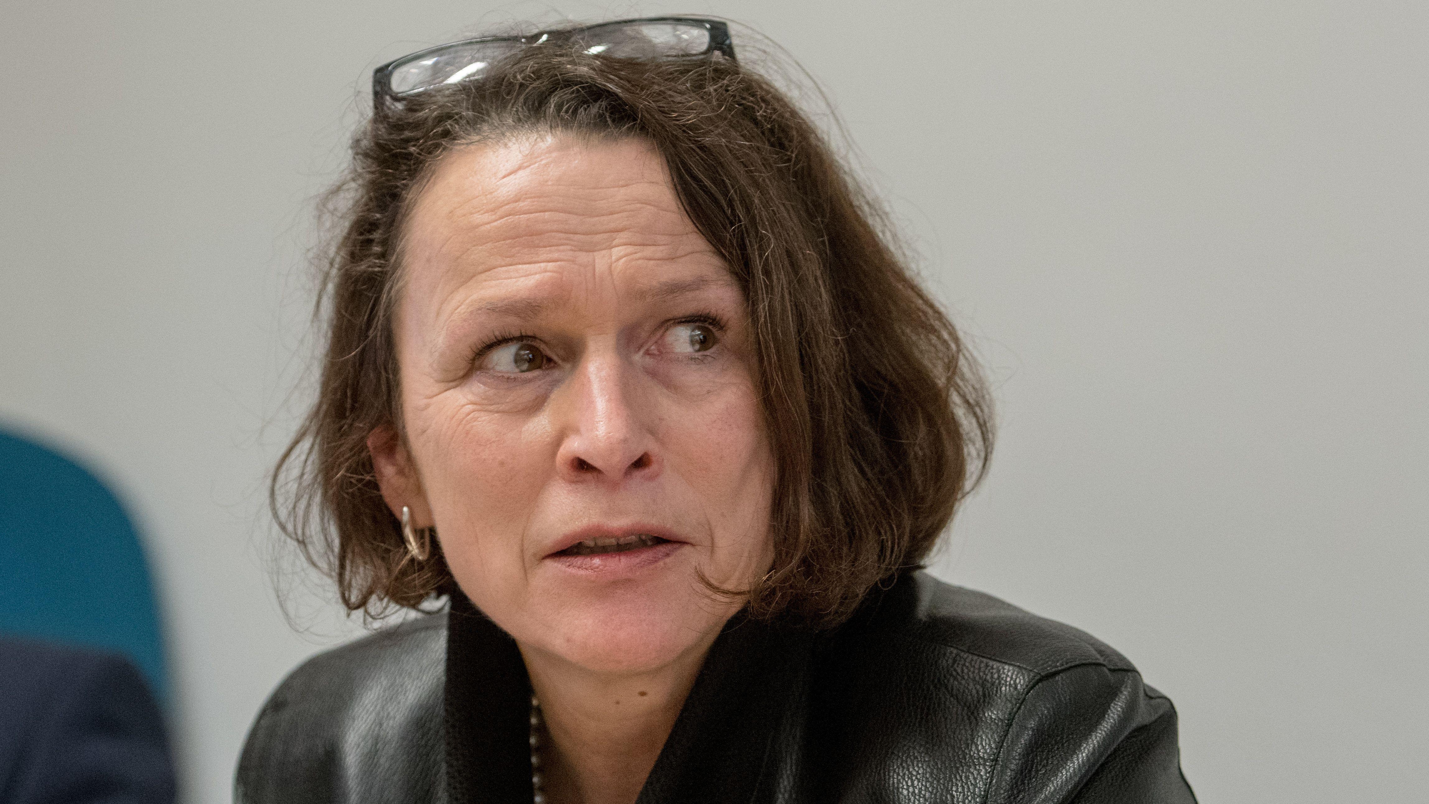 Die neugewählte Oberbürgermeisterin Gertrud Maltz-Schwarzfischer (SPD).