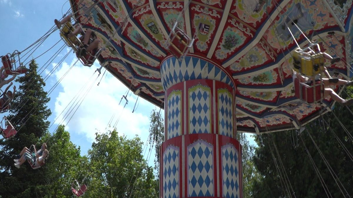 Das Karussell im Bayern-Park