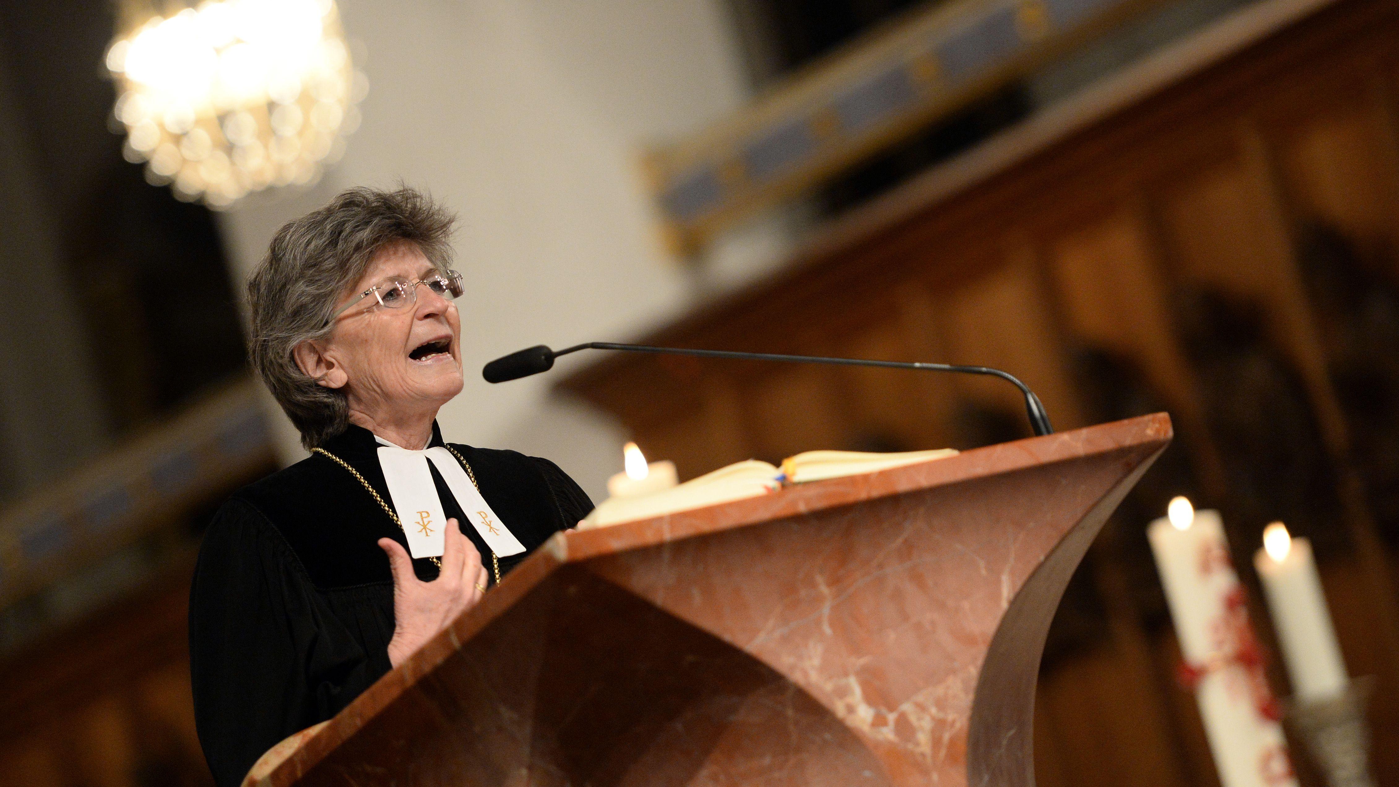 Die evangelisch-lutherische Regionalbischöfin Susanne Breit-Keßler (Archivbild)