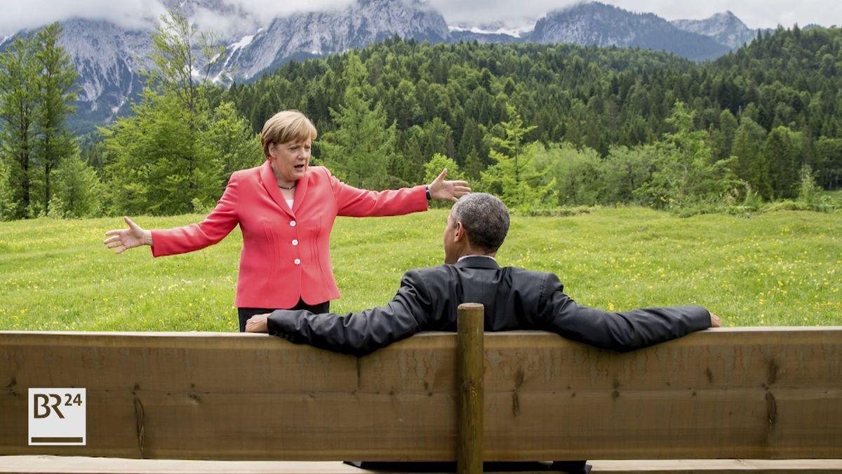 Merkel und Obama 2015