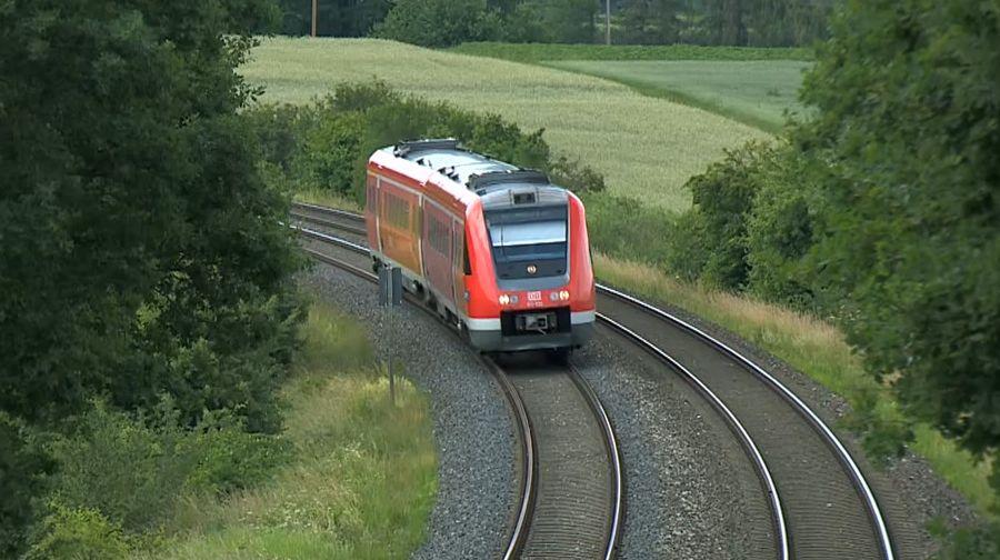 Bahnausbau in Oberfranken