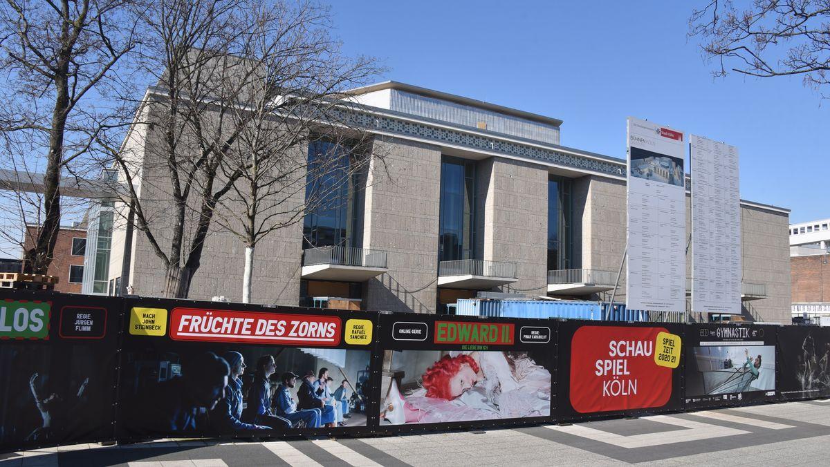 Baustelle der Bühnen Köln