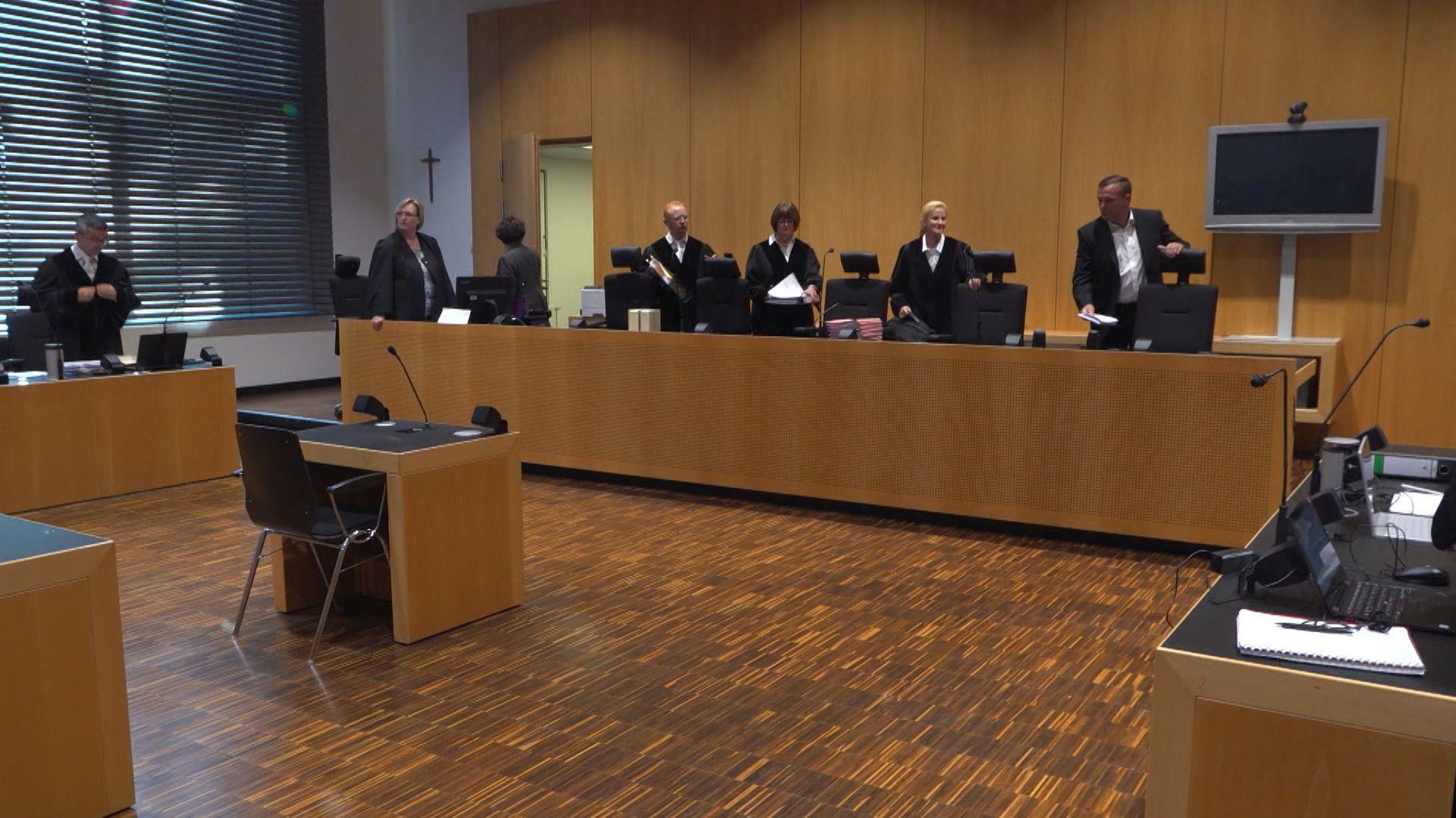 Prozess um Tötung einer Bäuerin vor dem Landgericht Augsburg