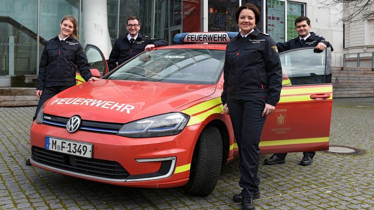 Die neue Dienstkleidung der Münchner Berufsfeuerwehr