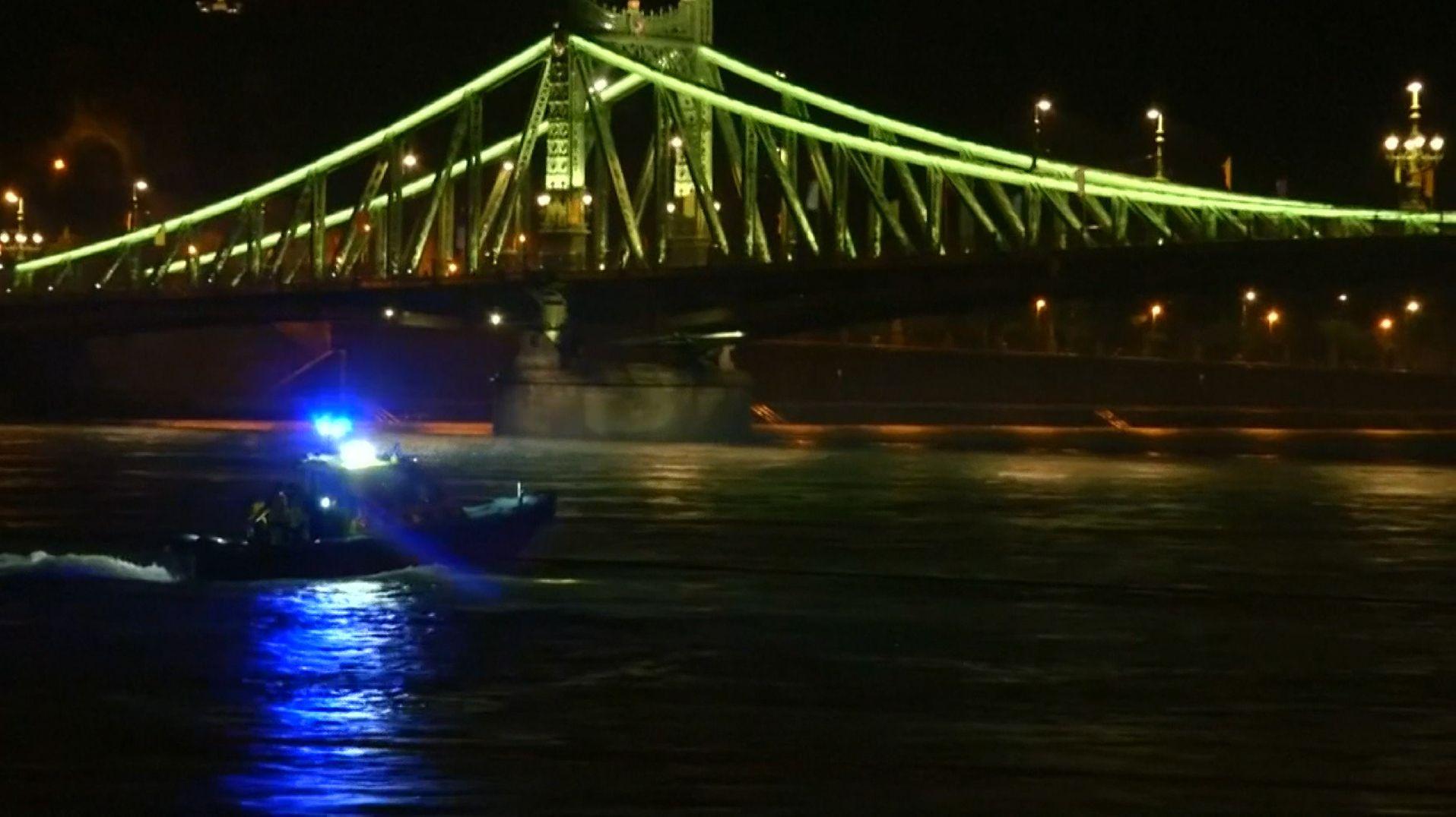 Nach dem Schiffsunglück im Zentrum Budapests: Suche nach Vermissten