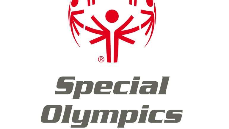 Das Logo der Special Olympics für geistig behinderte Menschen