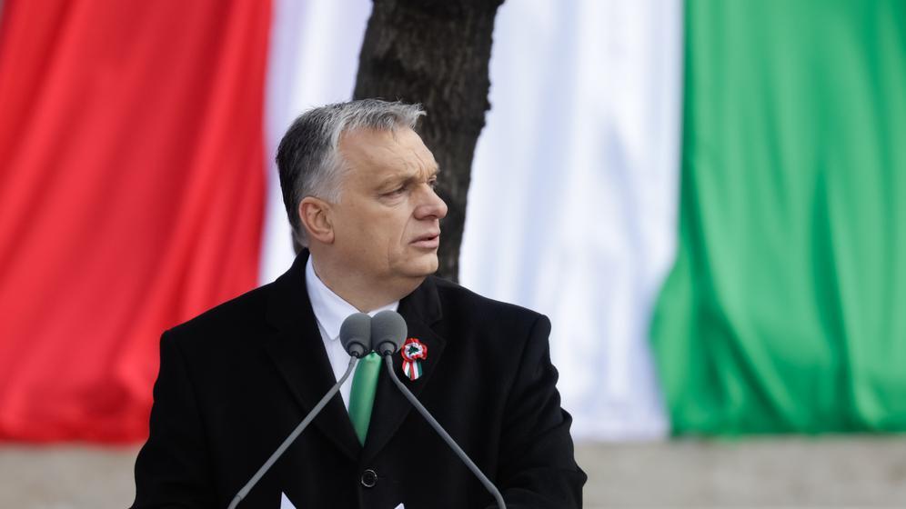 Viktor Orban | Bild:dpa-Bildfunk/Attila Volgyi