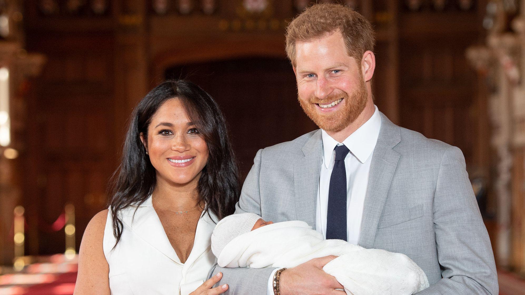 Prinz Harry und Herzogin Meghan stellen ihren neugeborenen Sohn Archie der Öffentlichkeit vor.