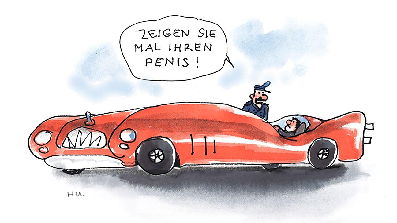 """""""Zeigen Sie mal Ihren Penis"""" von Rudi Hurzlmeier"""