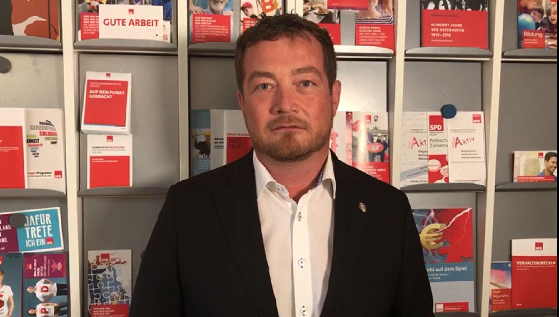 Mordaufruf gegen Uli Grötsch - SPD-General reagiert mit Video