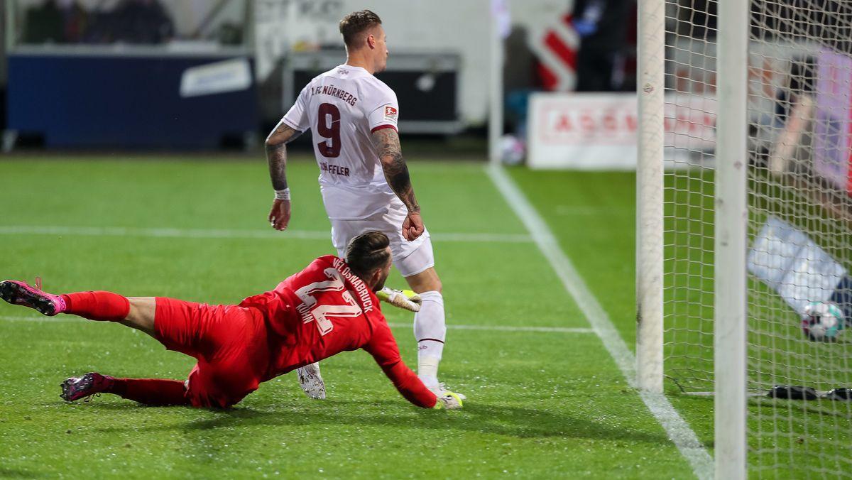 Manuel Schäffler trifft für den 1. FC Nürnberg