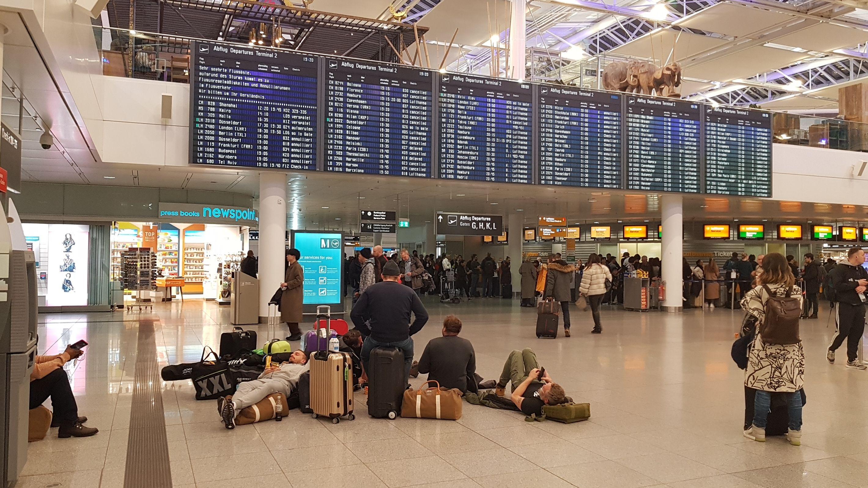 Am Flughafen München