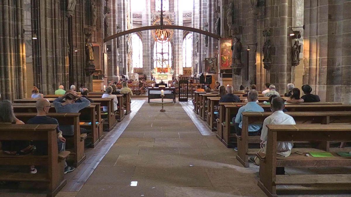 Gedenken an Drogenopfer in der Nürnberger Lorenzkirche
