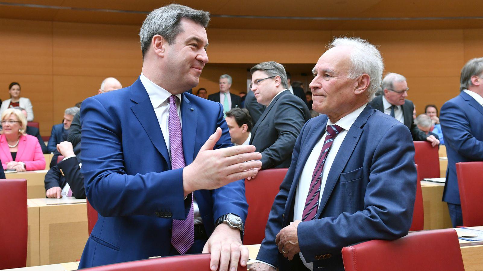 """Ex-Parteichef: CSU mit Söder """"wieder berechenbarer Faktor"""""""