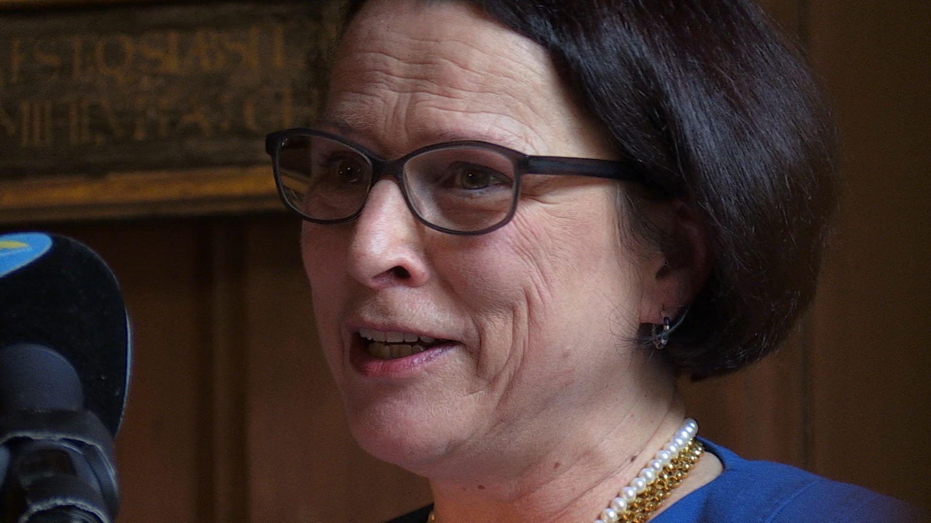 Die Regensburger SPD geht mit Bürgermeisterin Gertrud Maltz-Schwarzfischer als OB-Kandidatin in die Kommunalwahlen 2020.