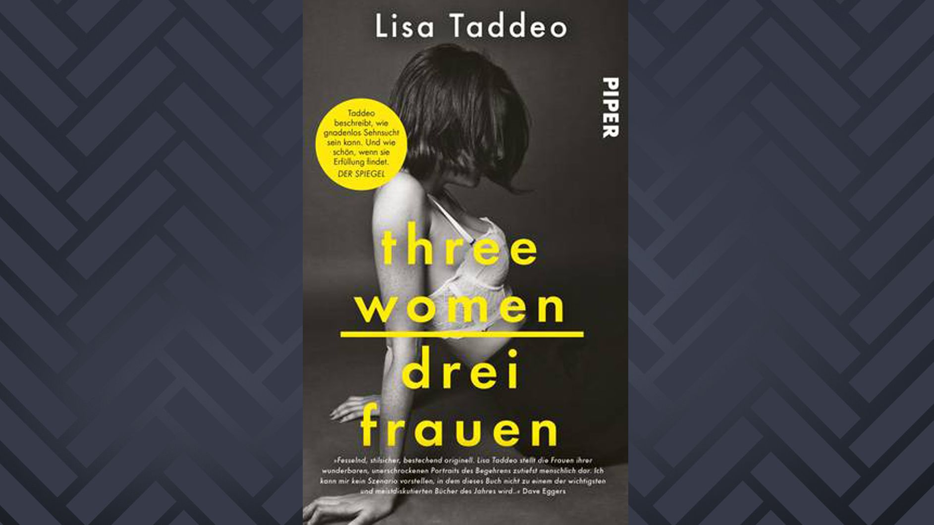 """Cover von dem Buch """"Drei Frauen"""" von Lisa Taddeo"""