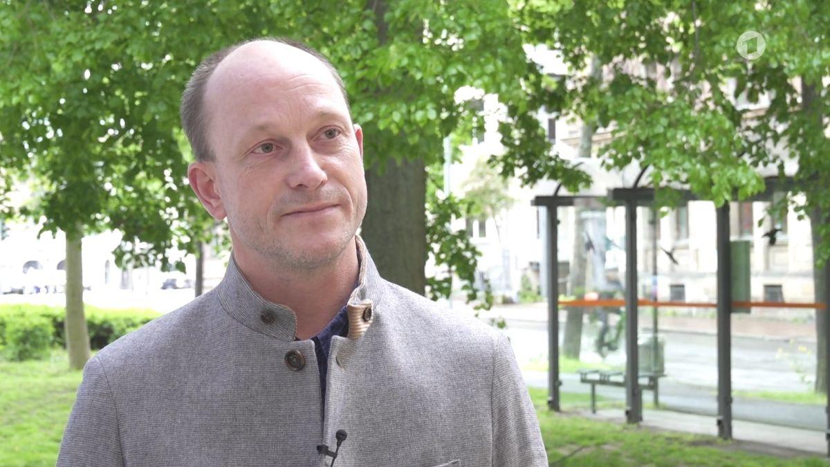 """Hubertus Schaller, der Sprecher des """"Bamberger Bündnis gegen Rechtsextremismus und Rassismus"""""""