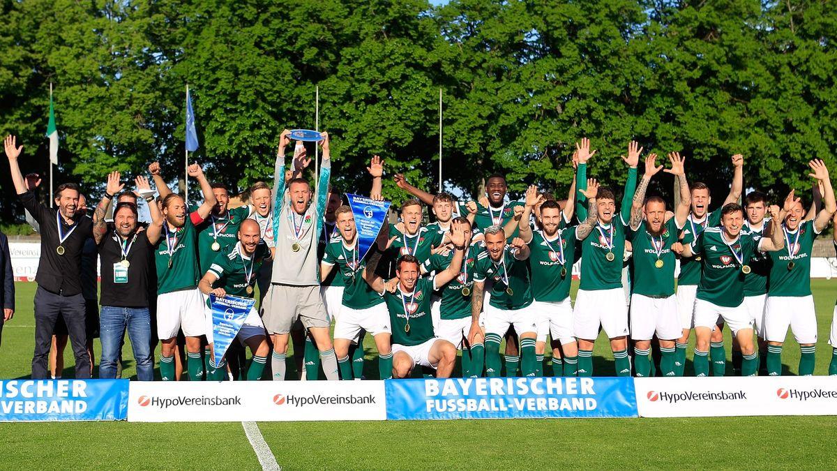 Meister der Regionalliga Bayern 2020 / 2021: FC 05 Schweinfurt