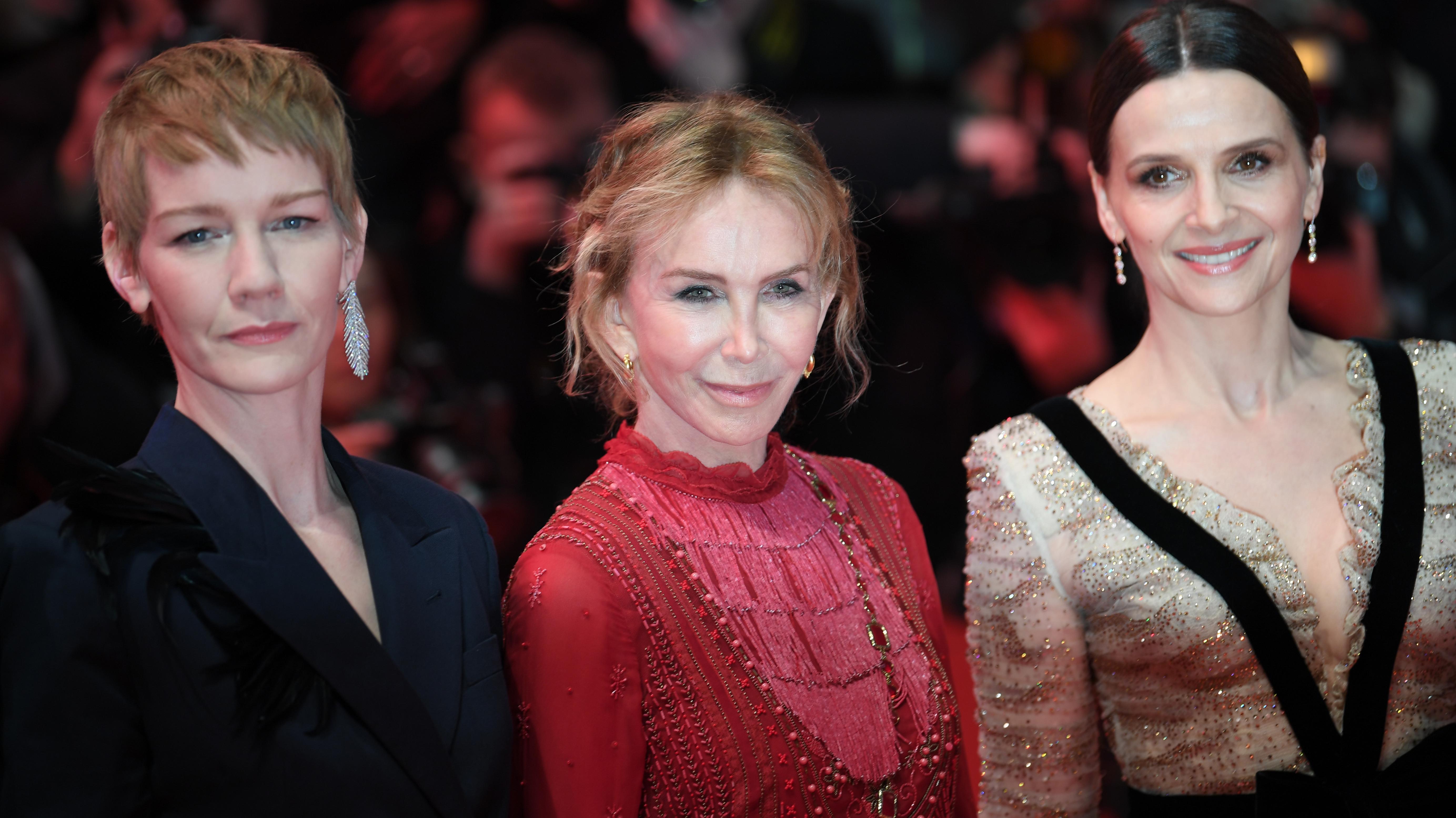 Berlinale 2019: Jurymitglieder Sandra Hüller, Trudie Styler und Vorsitzende Juliette Binoche