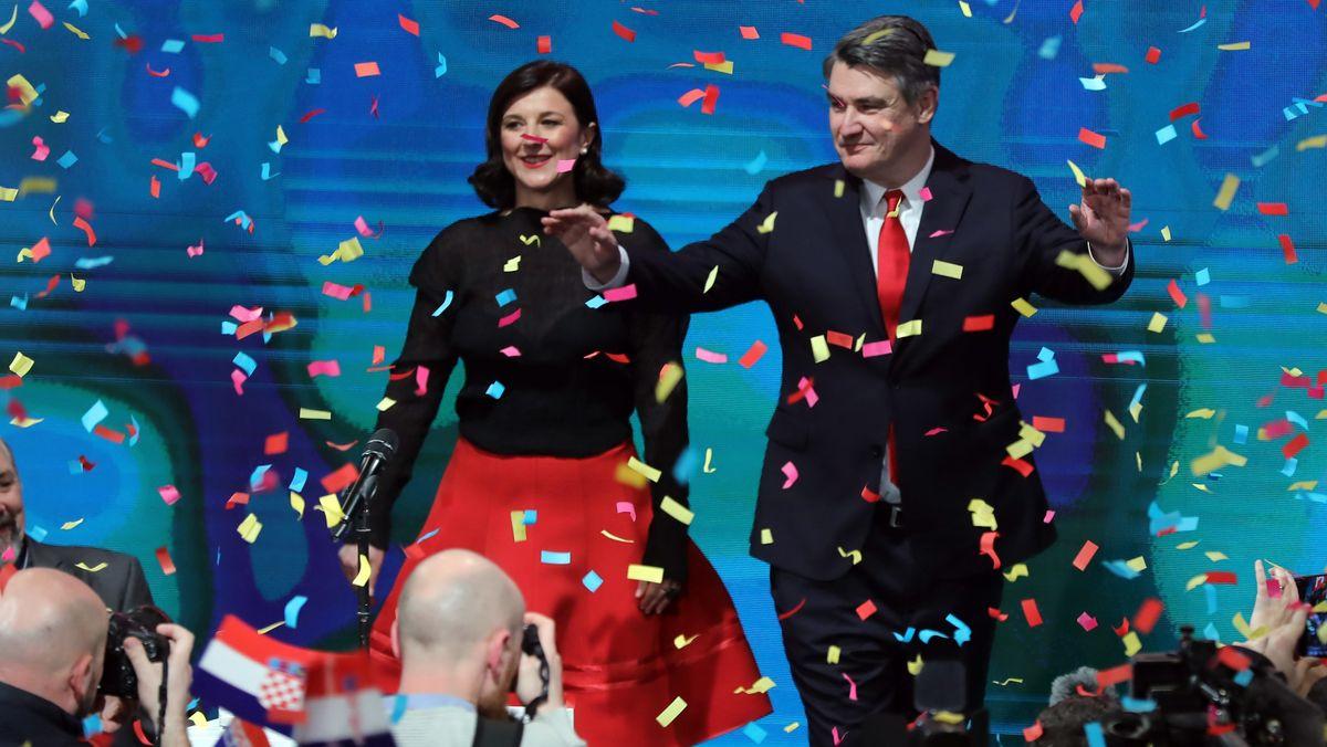 Milanovic gewinnt Präsidentenwahl
