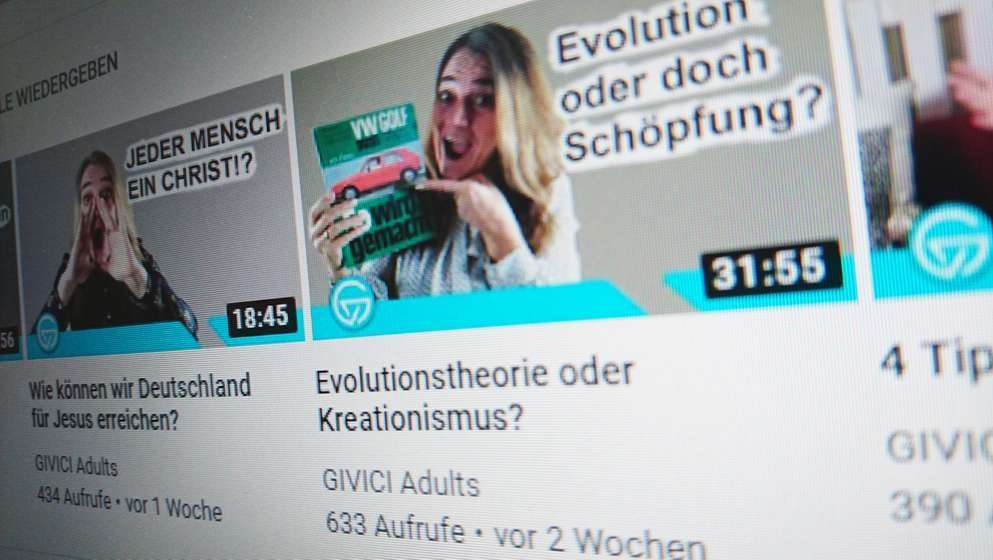 YouTube-Kanal GIVICI: Videos werden beworben