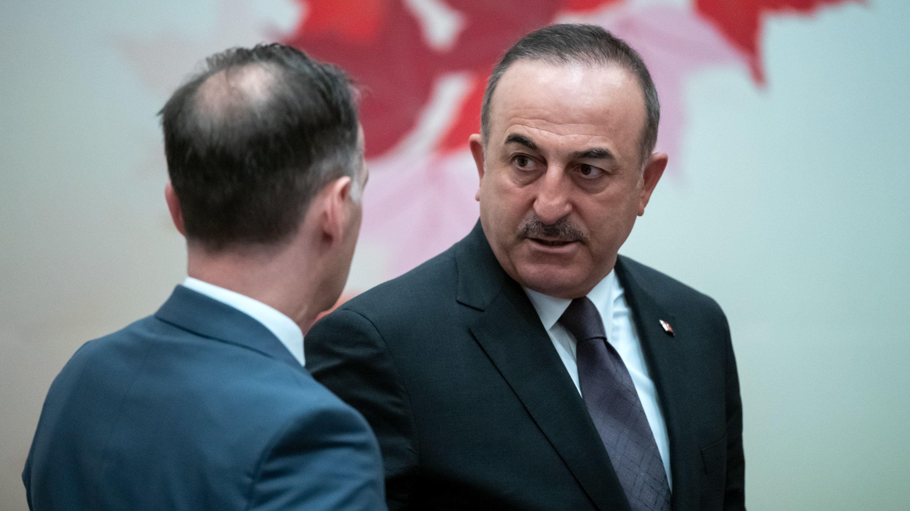 Außenminister Maas und sein türkischer Amtskollege Cavusoglu