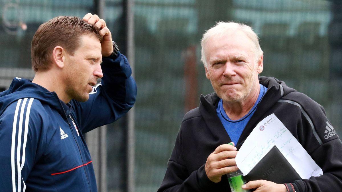 Holger Seitz (links) und Hermann Gerland
