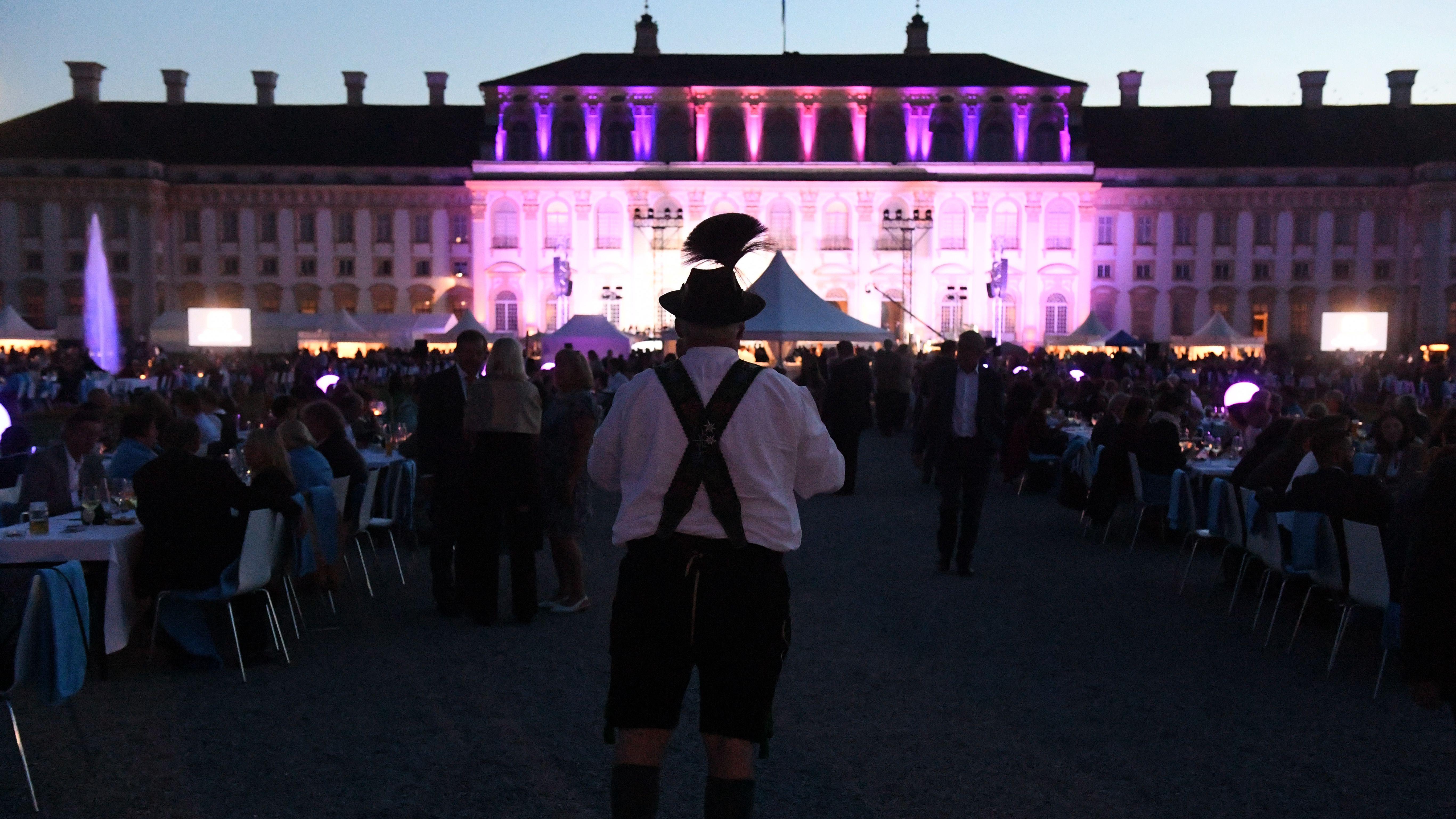Archivbild: Sommerempfang auf Schloss Schleißheim