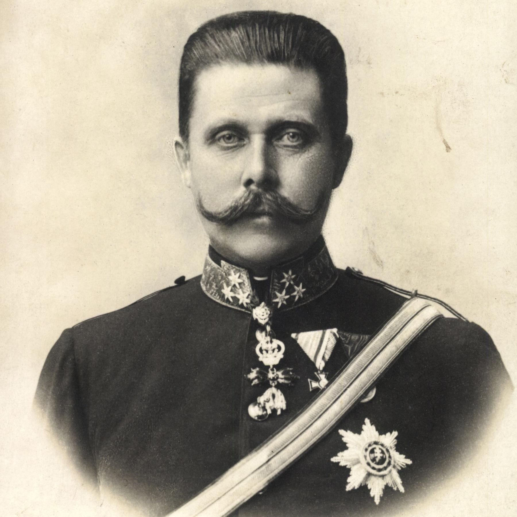 Erzherzog Franz Ferdinand - Attentat in Sarajewo