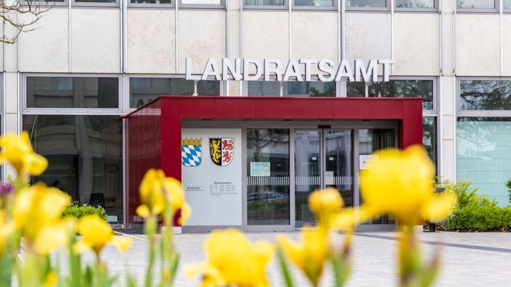 Das Landratsamt in Neumarkt in der Oberpfalz