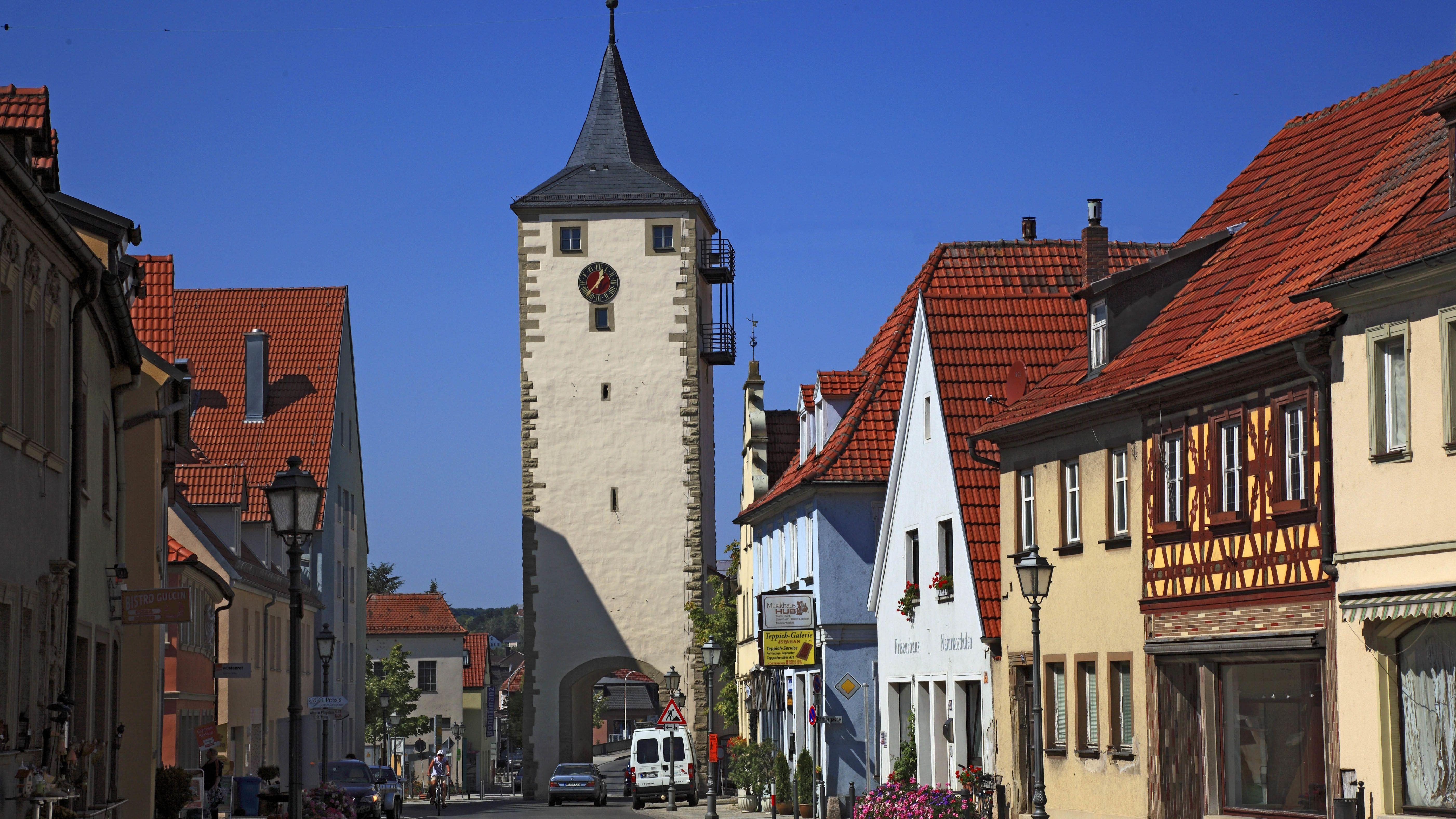 Ansicht von Haßfurt