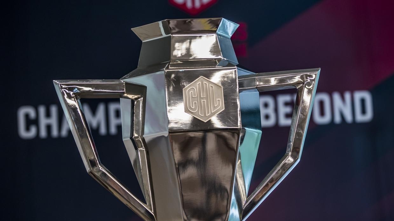 Der Eishockey-Champions-League-Pokal
