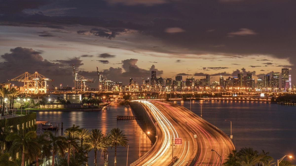 Brücke in Miami, Florida